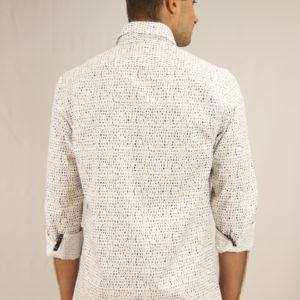 camisa microestampada